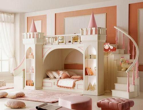 Decorar dormitorios estilo princesa colores en casa - Gran casa camerette ...