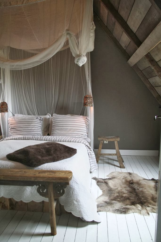 A bed canopy is the most common decor use for this style of netting.  Structured canopies, with gathers and supports sewn in, can be found  inexpensively in ...