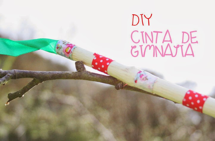Cinta de Gimnasia rítmica DIY1