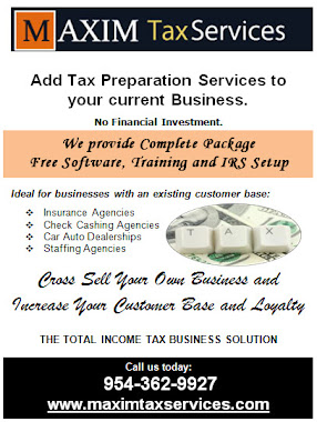 Maxim's Tax Offering for Existing Business owners
