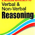 A modern approach to verbal and non verbal reasoning by R S Agarwal pdf download