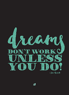 """LostBumblebee ©2015 MDBN : DREAMS DON""""T WORK UNLESS YOU DO : Free Donate to Download Printable : Personal use Only."""