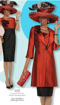 Visit Clothing Suits, matching Purse      and Hat (click on suit)