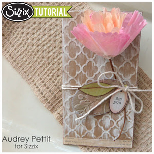 Sizzix Die Cutting Tutorial: For You Money Holder by Audrey Pettit