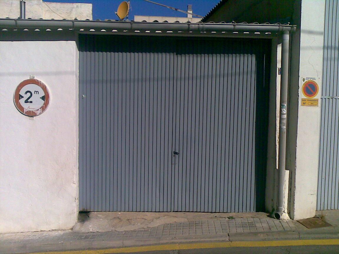 Metalicas anugar s c puertas de garaje - Puertas de garaje batientes ...