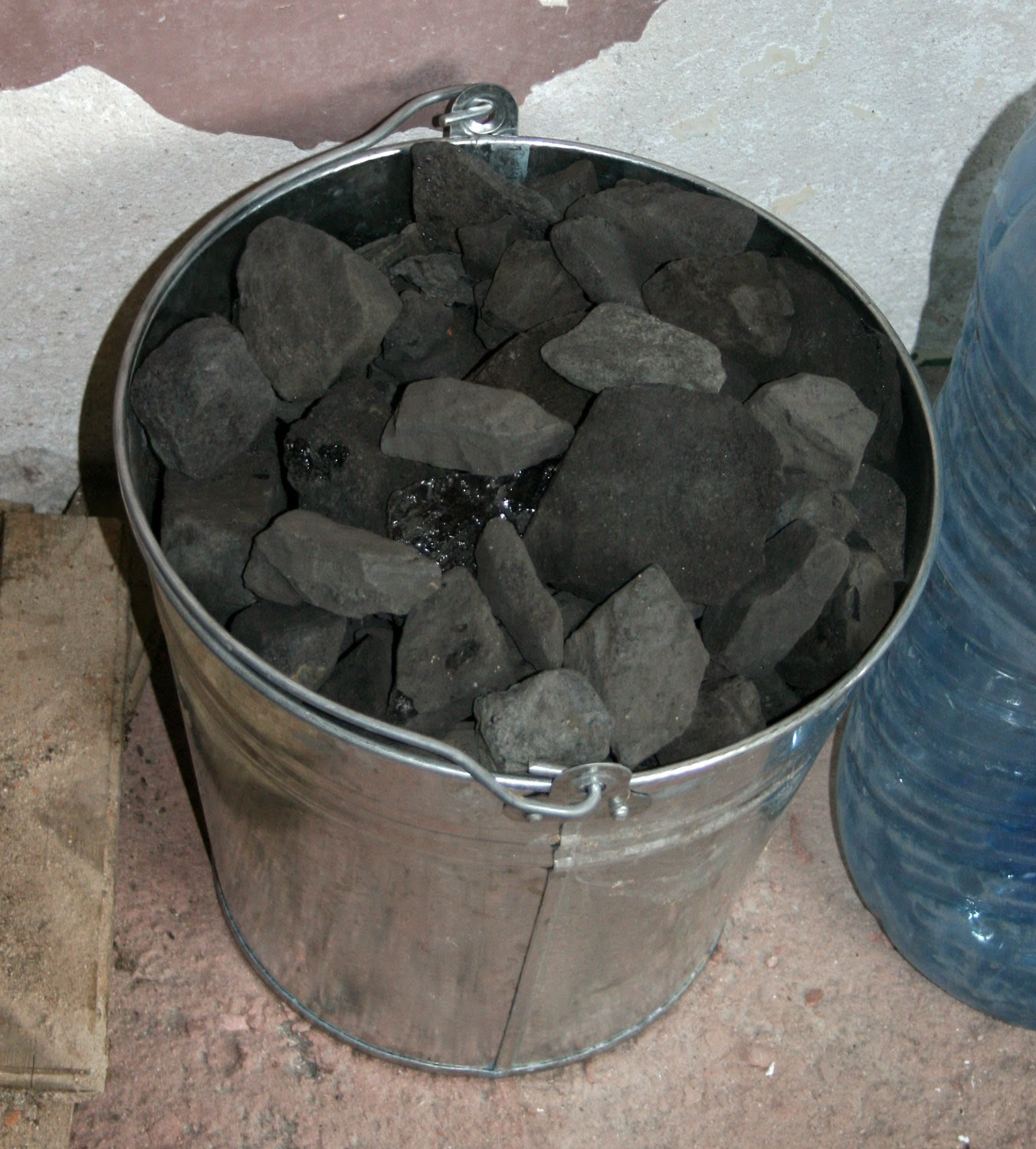 My bucket full of coal