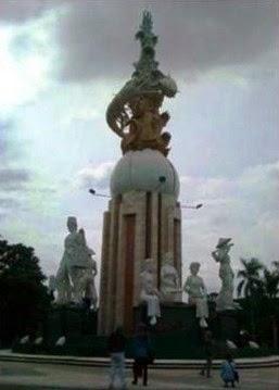 Pembongkar Patung Jayandaru di Sidoarjo