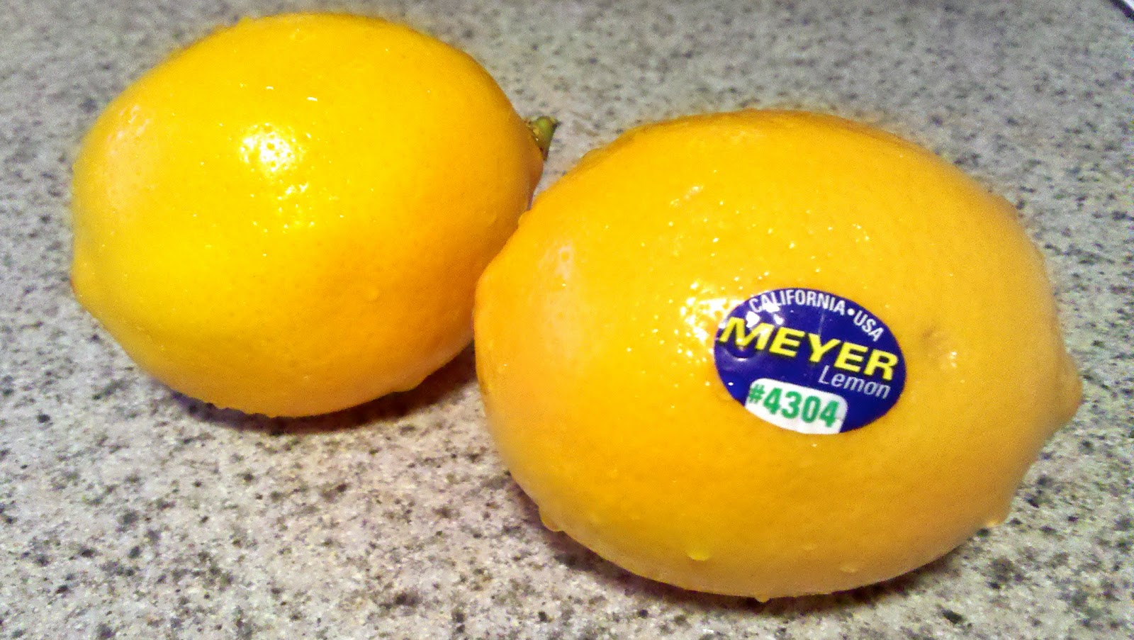 Meyer lemons are a sweeter version of a regular lemon, introduced to ...