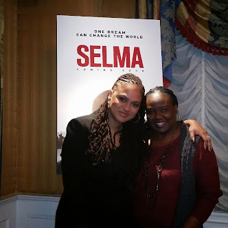 SELMA Director Ava DuVernay with Tinsel & Tine Editor Le Anne Lindsay