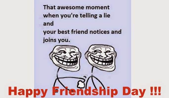 Funny Quotes on Friendship in English Funny Friendship Day Quotes