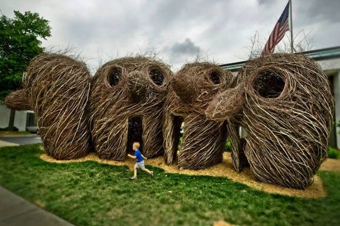 Bending Sticks: The Sculpture of Patrick Dougherty