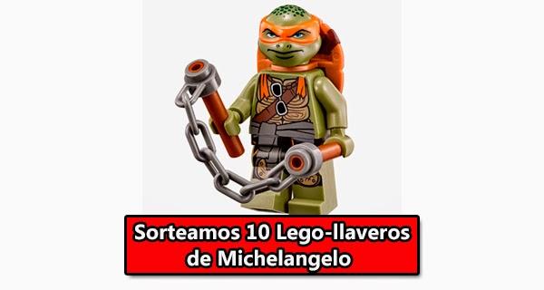 Llavero Michelangelo Tortugas Ninja