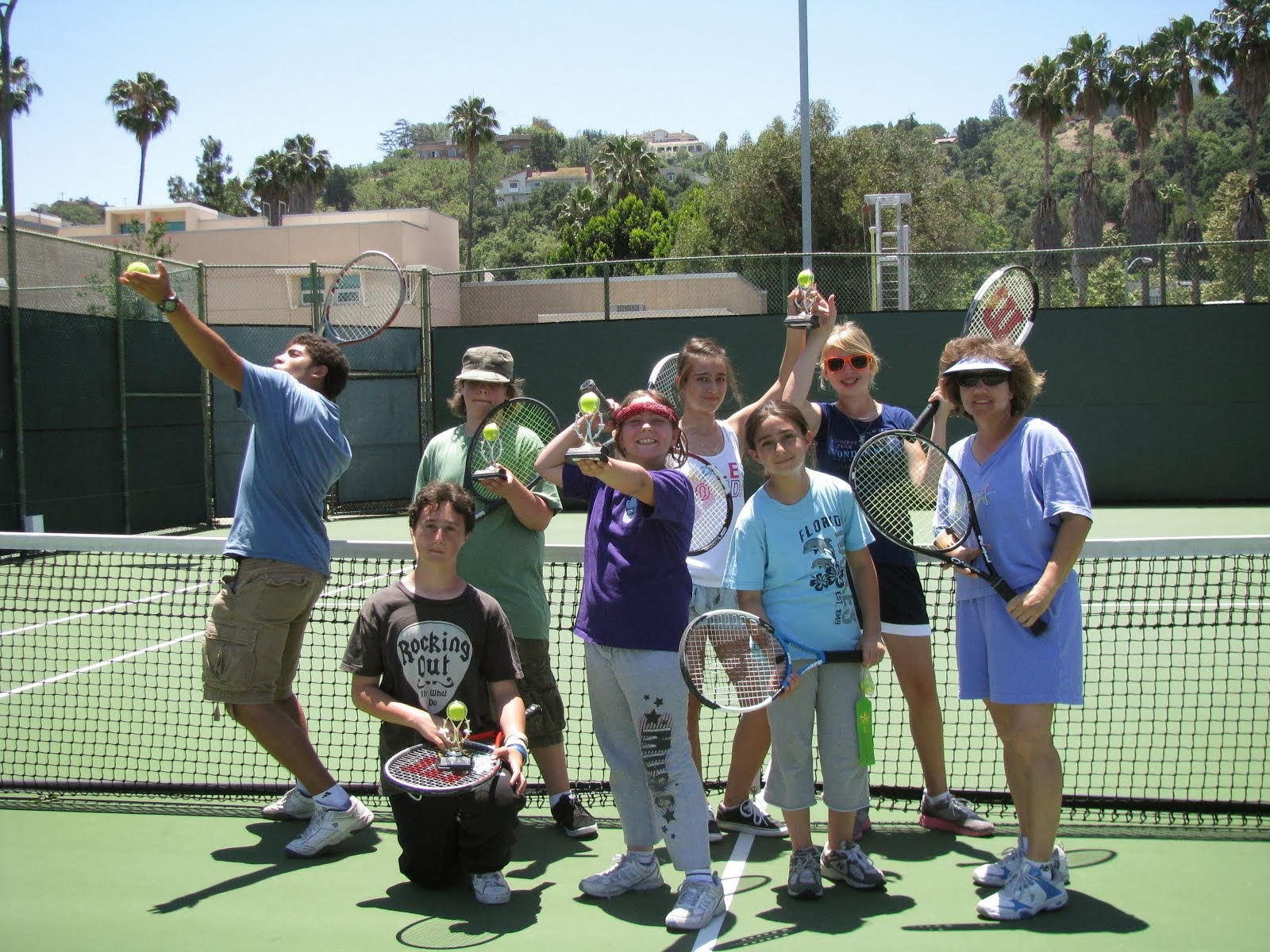 Summer Tennis Camp! 2010