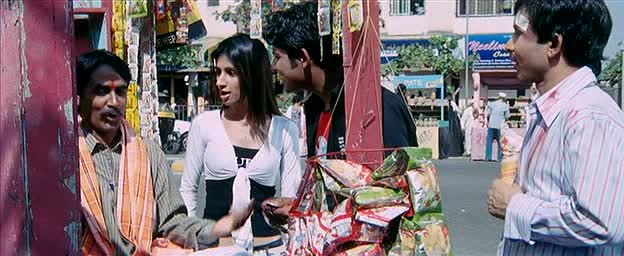 KRK watches some people buy drugs from a paanvala while eating bhel puri