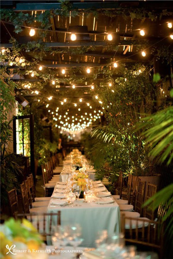 Long Tables Fairy Lights