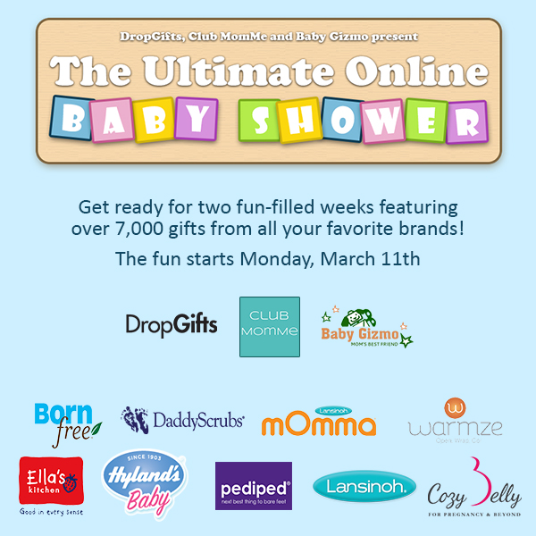 The NapTime Reviewer: The Ultimate Online Baby Shower begins March