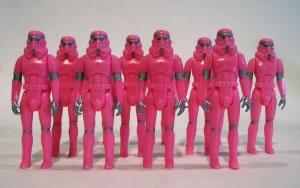 Na ditadura Gay George Lucas lança: Star Wars XX – O Império rosa contra ataca (Foto: Triângulo Rosa)