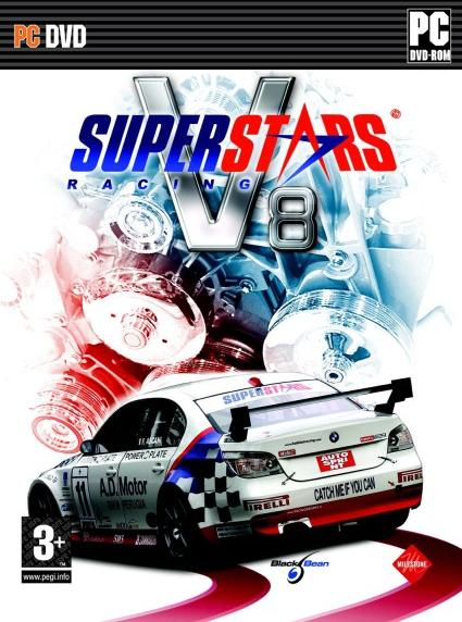 poster Superstars V8 Racing PC Game