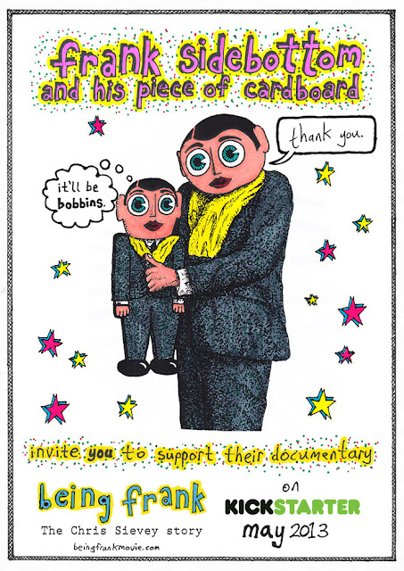 chris sievey frank sidebottom being frank kickstarter