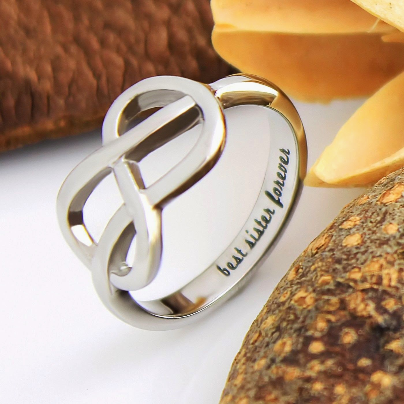 unisex ring scratches symbols silver custom woodgrain arrows promise texture sterling detailed textured products band infinity symbol engagement