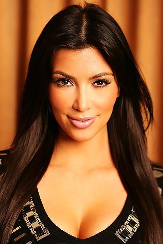 Kim Kardashian that sexy face