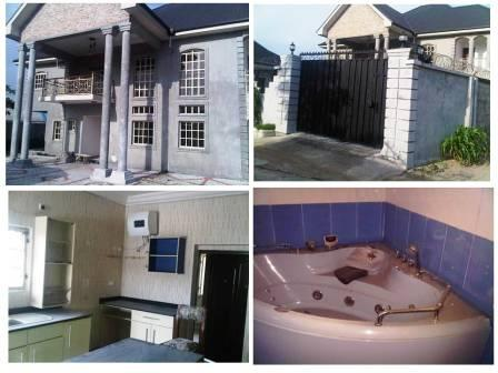 Duplex For Sale @ Eliozu, Port Harcourt