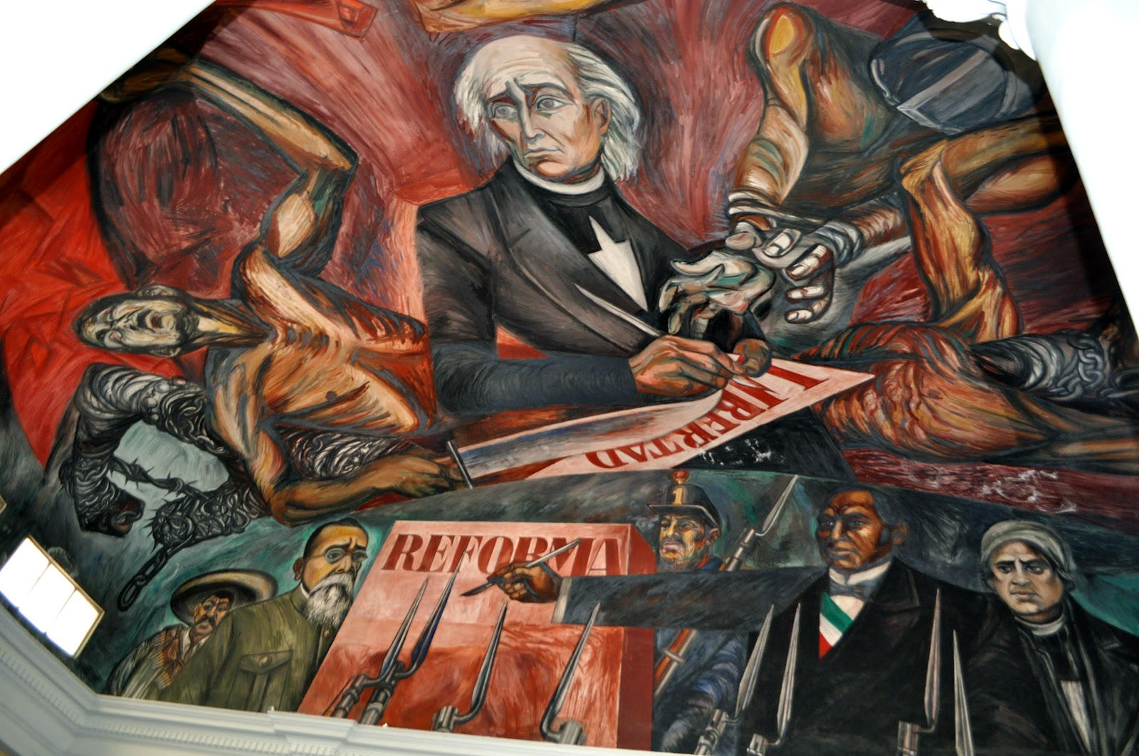 Adventures by aaron guadalajara 39 s top 20 number 13 the for Benito juarez mural