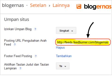 Cara Mengalihkan URL Feed Blogger ke Feedburner
