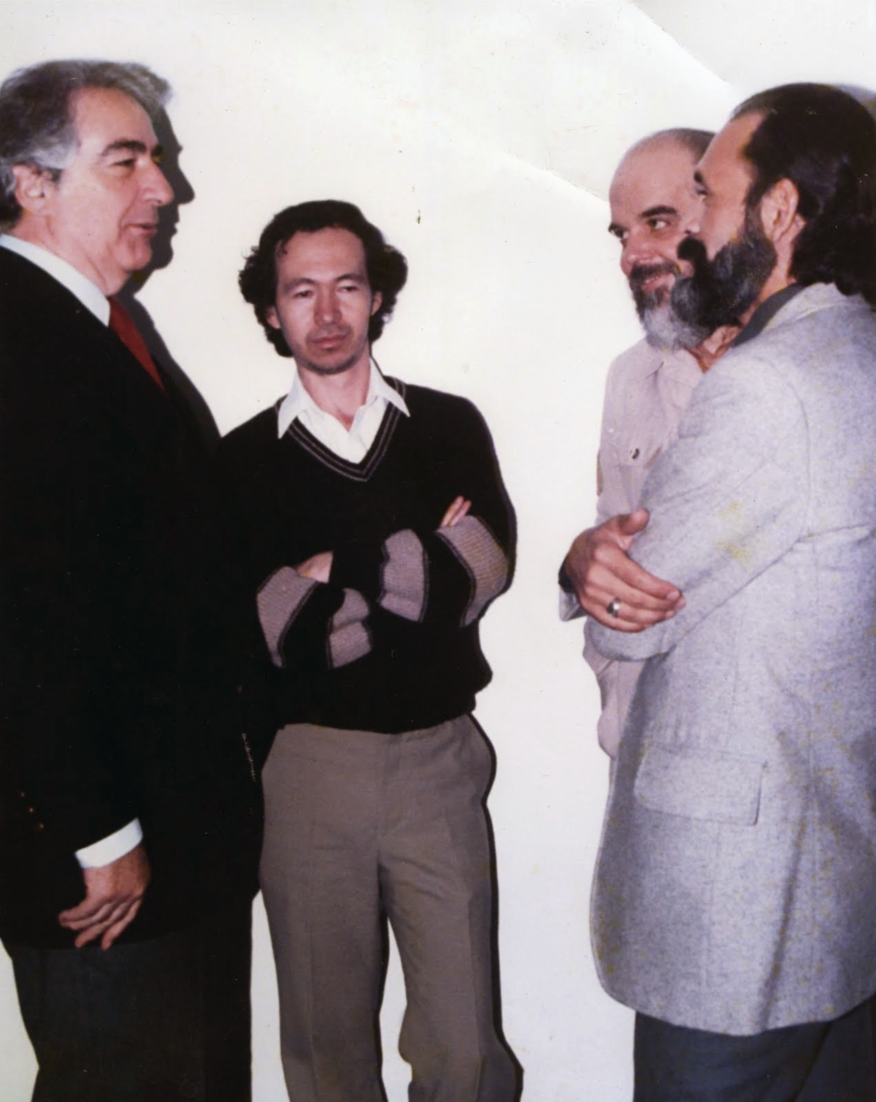 Con Álvaro Mutis en México