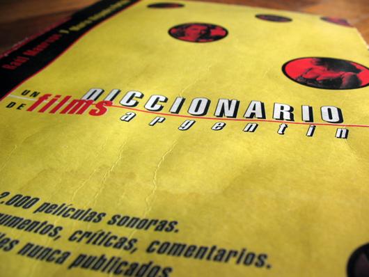 Primera edición de 'Un diccionario de films argentinos (1995)'