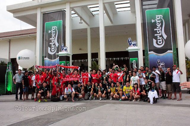 carlsberg consumers football fans avani sepang goldcoast resort ultimate football retreat group photo