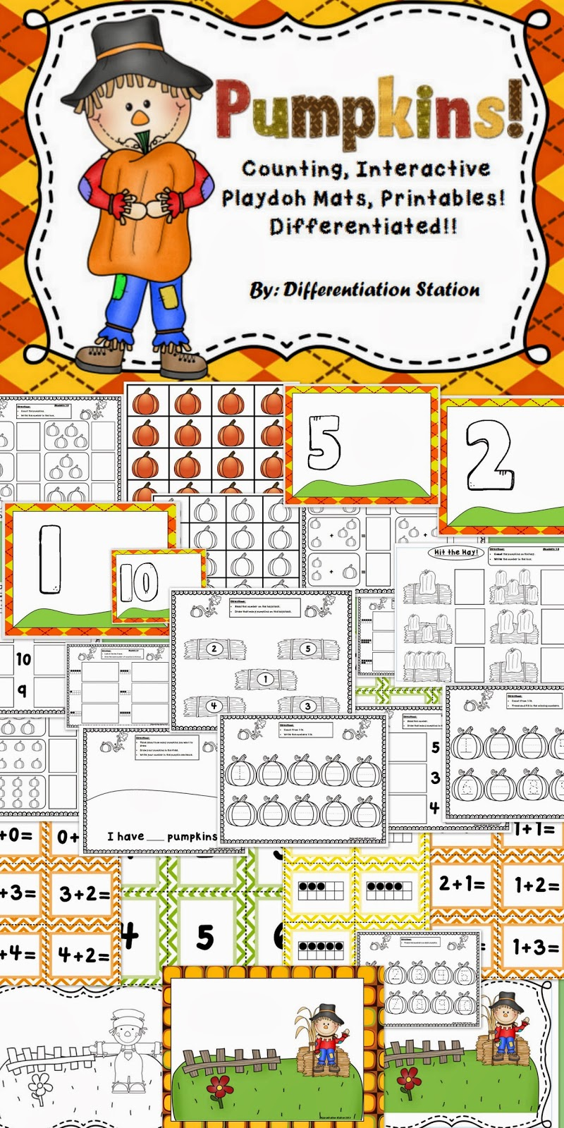 http://www.teacherspayteachers.com/Product/Pumpkins-Interactive-PlayDough-Mats-Counting-Centers-and-Games-Printables-898700