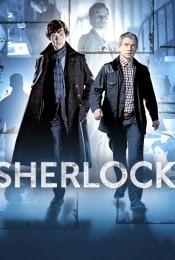 imagen cartel serie bbc sherlock