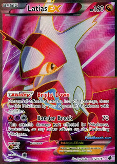 Latias EX Full Art Plasma Freeze Pokemon Card