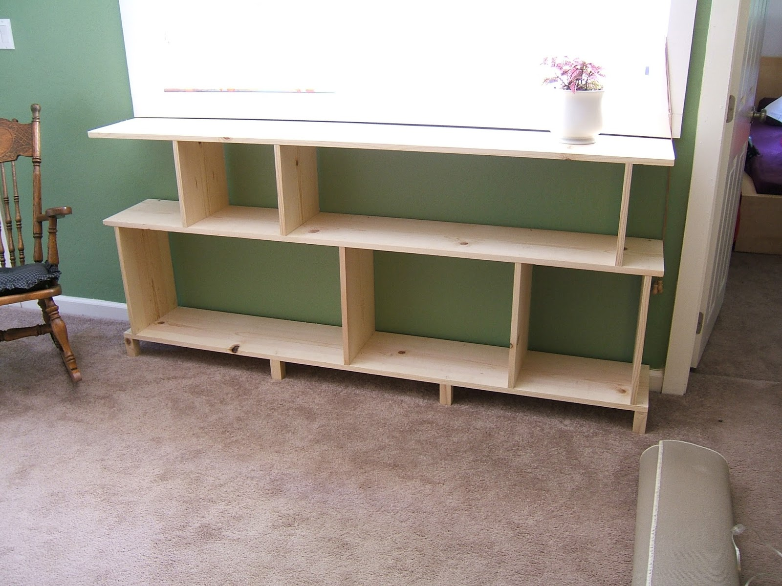 how to build a bookshelf step by step