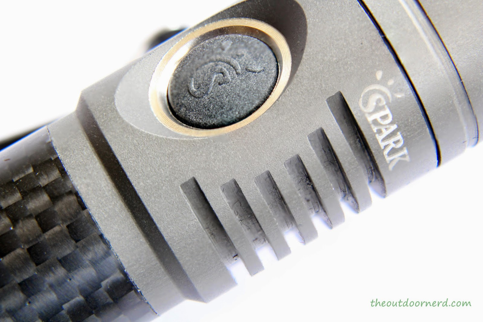 Spark SF5 1xAA Flashlight: Closeup Of Electronic Switch 1
