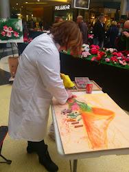 camelias al pastel