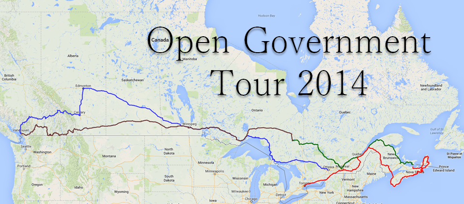 Open Government Tour 2014 OGT14 Hits Victoria BC to Stimulate