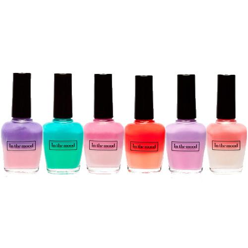 Nail Polish Colors For Cool Skin Tones: Reina: COOL MOOD NAIL POLISH...CHANGES COLOR TONES