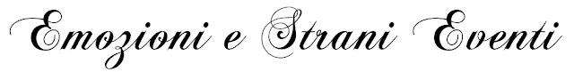 emozioni e strani eventi event and event planner font per logo 2