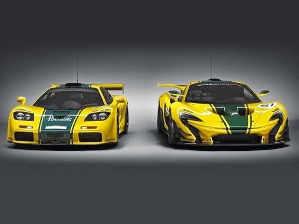 McLaren P1 GTR y F1 GTR