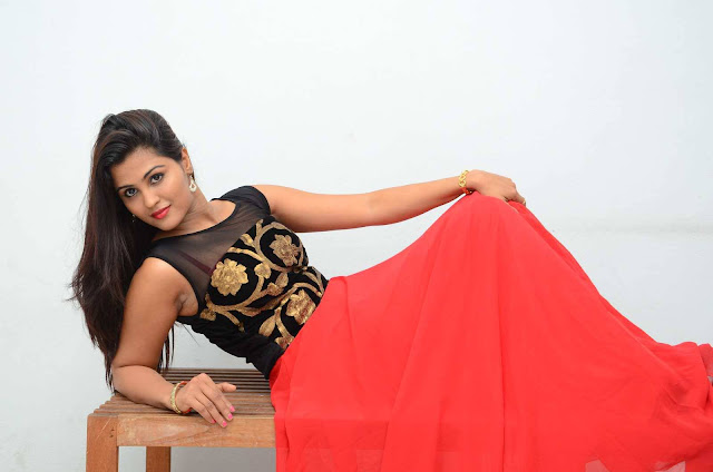Ananya Shetty Latest Photos At Kadile Bommala Katha Movie Audio Launch