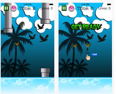 Flappy Bird Like Fly Birdie App