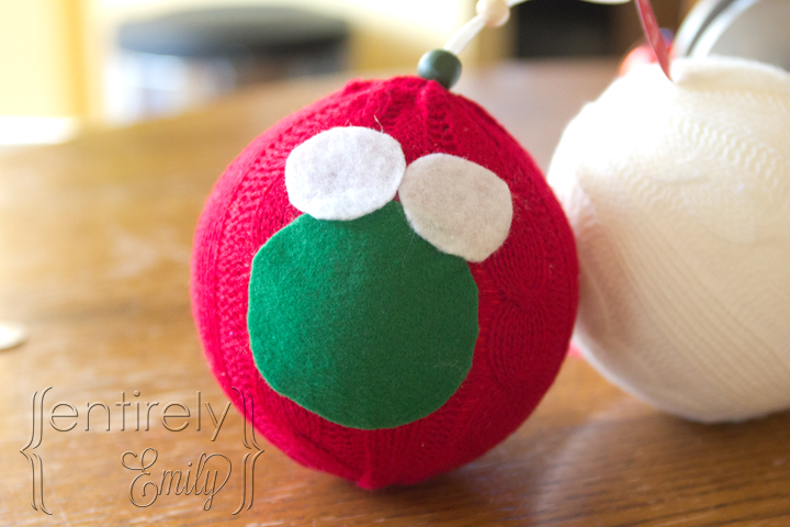 #NUO2012 Fuzzy Christmas Owl Ornaments 2