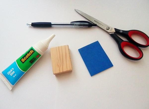 DIY : Tampon ancre