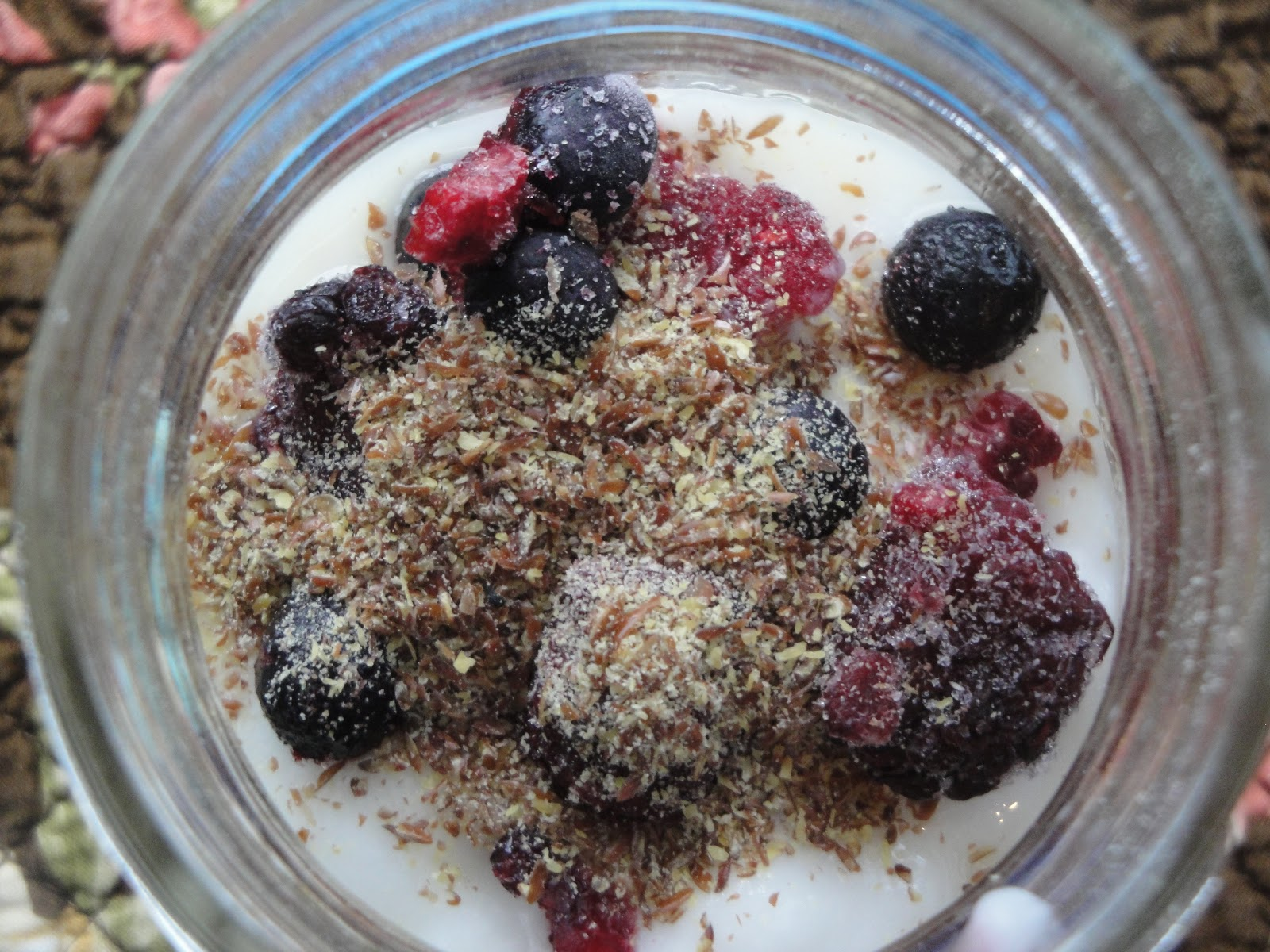 dairy free and egg free overnight oats