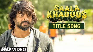 SAALA KHADOOS Title Song (Video) _ R. Madhavan, Ritika Singh _ T-Series
