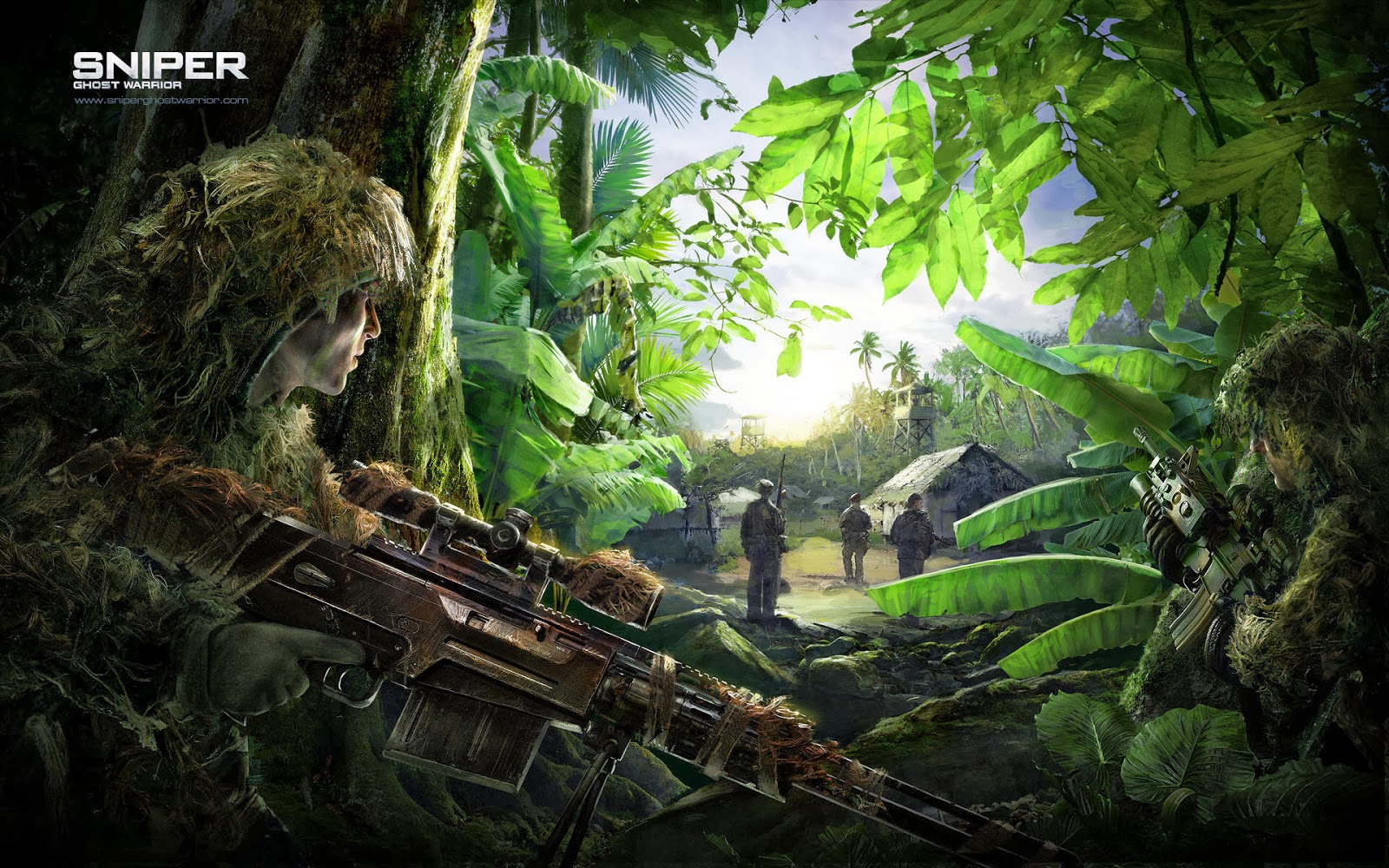 You Can Download This Sniper Ghost Warrior Wallpaper Just Left Click From Your Mouse And Set The On Desktop OS Or Do