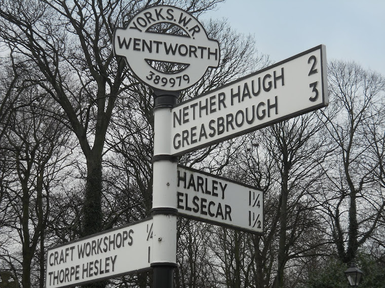 Nether Haugh Sign