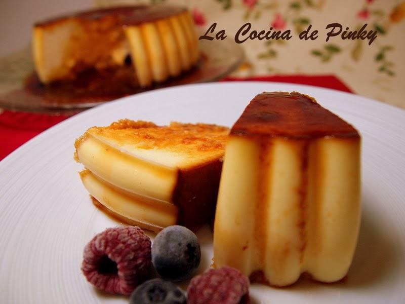 FLAN DE QUESO DE BURGOS LIGERO  Flan+de+queso+de+Burgos+ligero+2
